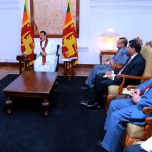 Foreign Minister Shahid pays a courtesy call on the Prime Minister of Sri Lanka