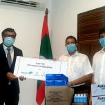 PPE gifted to the Maldives by Cocoon Investments Ltd. &  Akbar Brothers Ltd.