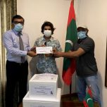 Haandoos Sports Pvt. Ltd.   gifted a consignment of  PPE to the Maldives