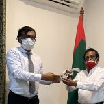 Wickramarachchi Opticians gifted a consignment of PPE to the Maldives
