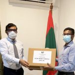 Oceans Trade and Logistics Pvt. gifted a consignment of PPE to the Maldives