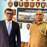 High Commissioner Omar met with the Acting Inspector General of Police of Sri Lanka