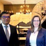 High Commissioner Omar met with the U. S. Ambassador