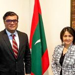 High Commissioner Omar met with Ms. Chiyo Kanda, Country Manager of World Bank, Maldives and Sri Lanka