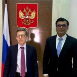High Commissioner Omar met with the Ambassador of Russian Federation