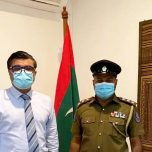 High Commissioner Omar met with the OIC of Diplomatic Police