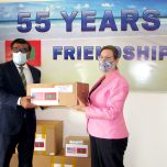 Government and people of the US gifted a consignment of PPE to the Maldives