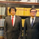 High Commissioner Omar paid a courtesy call on the Attorney General of Sri Lanka
