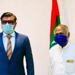 Sri Lankan High Commissioner-Designate H.E. Rohana Beddage met with High Commissioner Omar