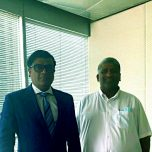 High Commissioner Omar paid a courtesy call on the Tourism Minister of Sri Lanka
