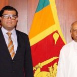 High Commissioner Omar paid a courtesy call on the Foreign Minister of Sri Lanka