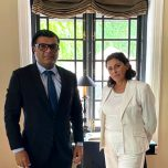 High Commissioner Omar met with the Italian Ambassador to Maldives