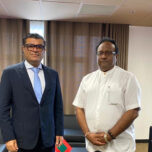 High Commissioner Omar paid a courtesy call on the Minister of Public Security