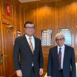 High Commissioner Omar met with the Governor of the Central Bank of Sri Lanka