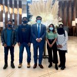 Non-Resident Ambassador Omar met with Maldivian students and family currently residing in Kazakhstan